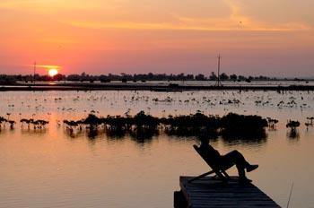 Kubalan au petit matin, Casamance