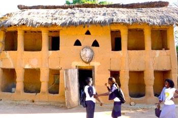Case à étage Mlomp Casamance