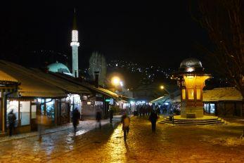 Sarajevo nocturne