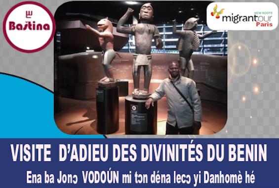France : Visite d'adieu aux Divinités du Bénin