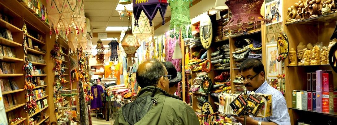 Un comptoir indien à Paris